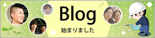 Blog始まりました